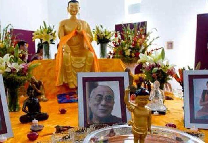 Las reliquias de Buda permanecerán en Mérida hasta el 4 de mayo. (pulsoslp.com.mx)