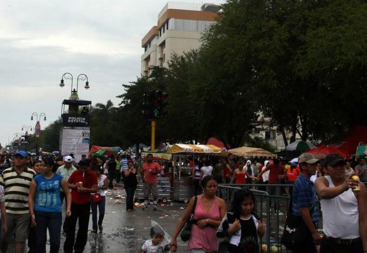 Cientos de vendedores se instalarán en el Paseo de Montejo. (Milenio Novedades)