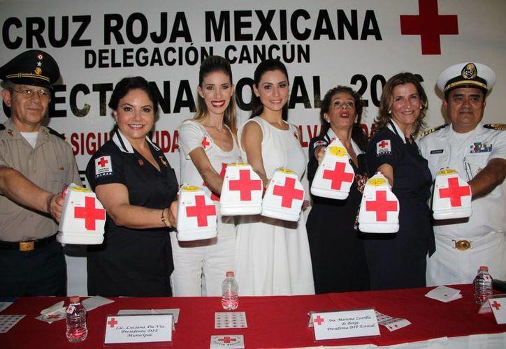 Este martes dio inicio la Colecta Nacional de la Cruz Roja Mexicana en Yucatán. (Milenio Novedades)