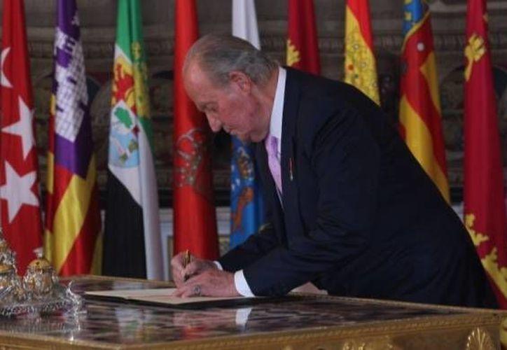 Juan Carlos de Borbón abdicó el pasado 2 de junio a favor del príncipe Felipe. (Casa Real)