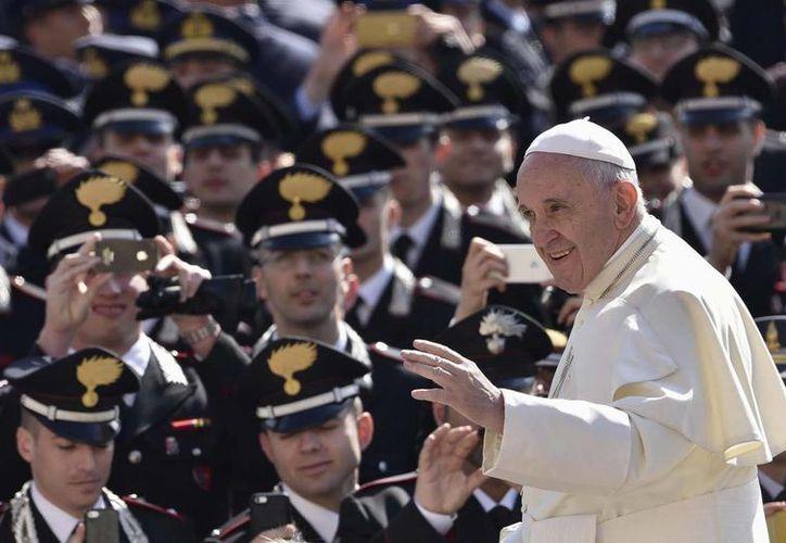 En solo tres años de pontificado, Jorge Bergoglio logró convertirse en un líder internacional. (EFE)