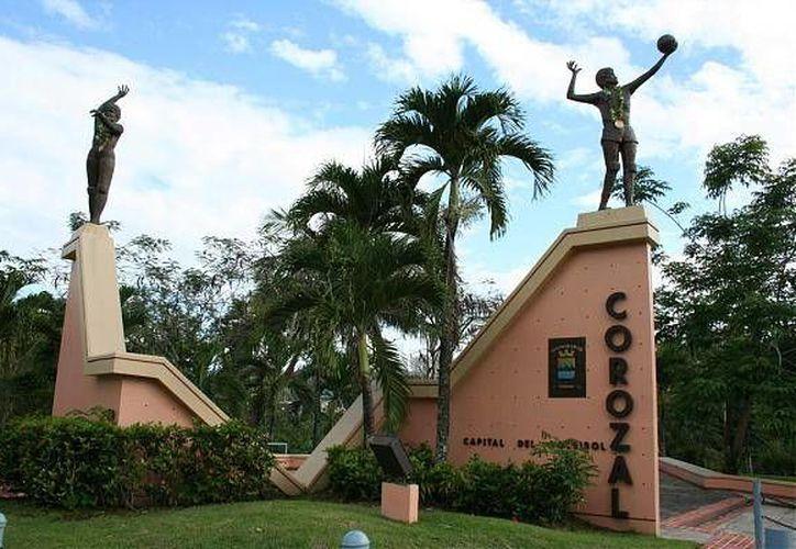 El municipio de Corozal, en Puerto Rico, donde esta madrugada murieron 4 personas en un tiroteo, está ubicado a 25 kilómetros de San Juan, la capital. La imagen está utilizada sólo con fines ilustrativos. (municipiodecorozal.com)