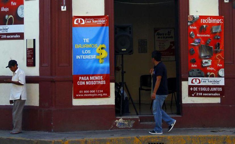En Yucatán operan con registro unas 200 casas de empeño,  señala la Profeco. (Juan Albornoz/SIPSE)