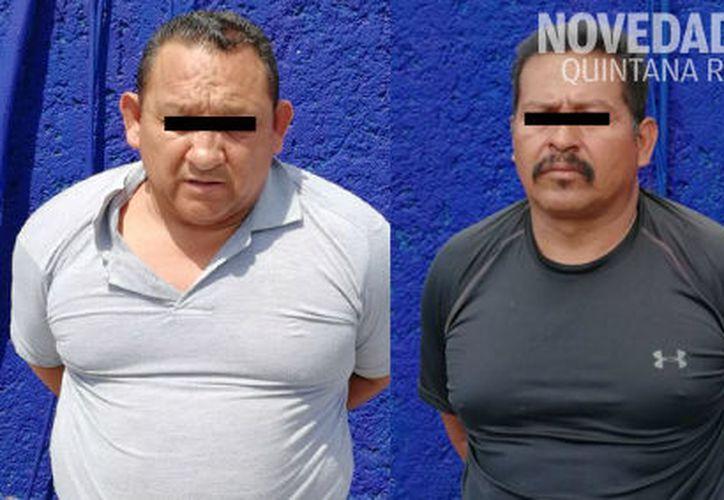 Los sujetos originarios de Guerrero, fueron enviados a las autoridades correspondientes. (Foto: Redacción)