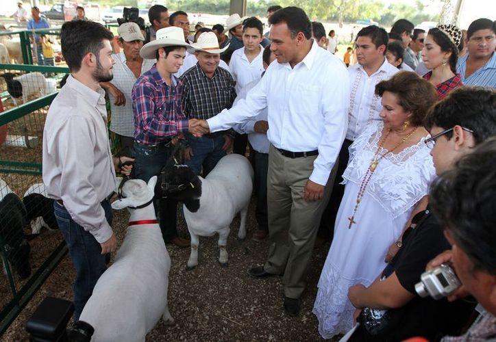 Ayer por la tarde el Gobernador estuvo en Tizimín. (SIPSE)