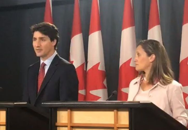 Trudeau declaró que la postura de Estados Unidos es inaceptable. (Facebook)