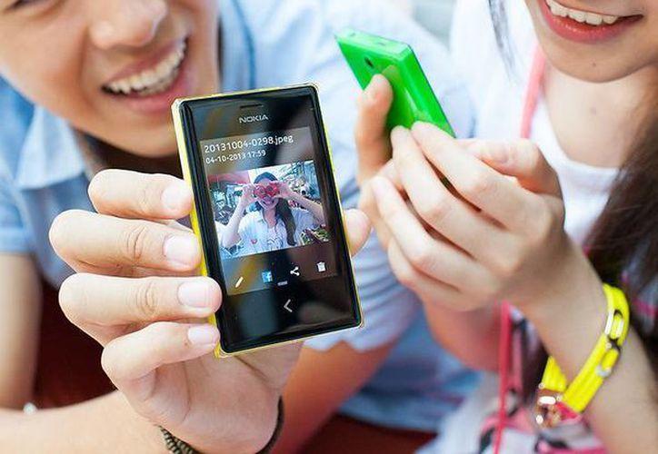 Nokia acaba de lanzar al mercado su nuevo Nokia Asha 503. (nokia.com)