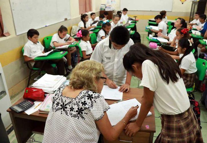 El magisterio yucateco hace una revisión profunda de sus necesidades,fuerzas y debilidades. (Foto: Milenio Novedades)