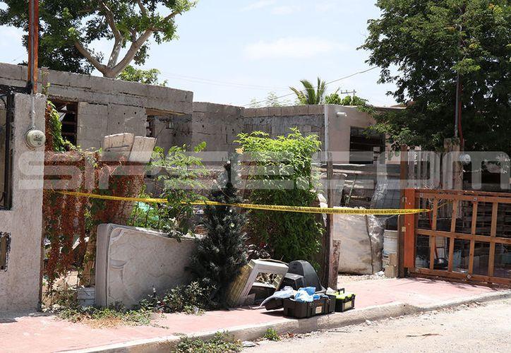 Uno de los casos se presentó en una vivienda ubicada en la calle 19-C por del fraccionamiento Paseos de Chenkú. (Jorge Pallota/SIPSE)