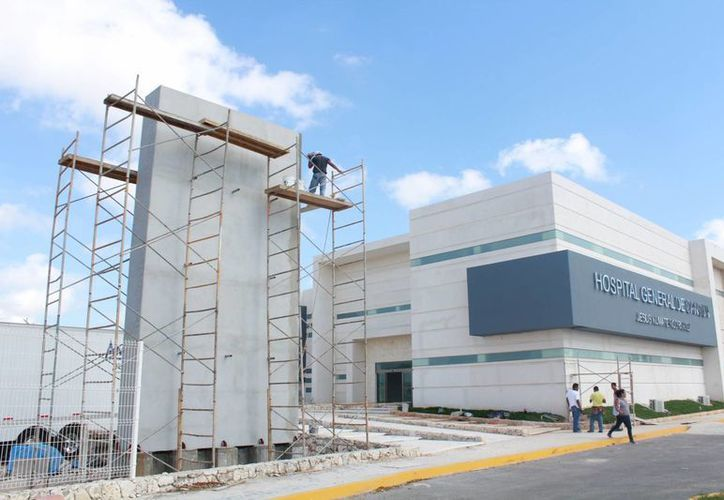 Las nuevas instalaciones del Hospital General se ubican en la Región 249. (Luis Soto/SIPSE)