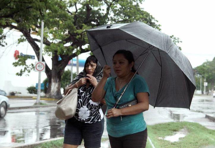 Para este martes se pronostican precipitaciones fuertes en el norte y occidente de Yucatán. (SIPSE)