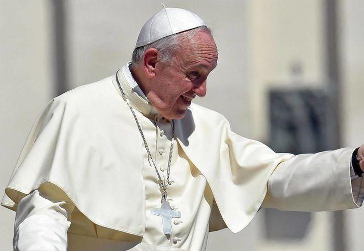 El Papa Francisco el pasado miércoles durante la audiencia general en la plaza de San Pedro en el Vaticano. (EFE)