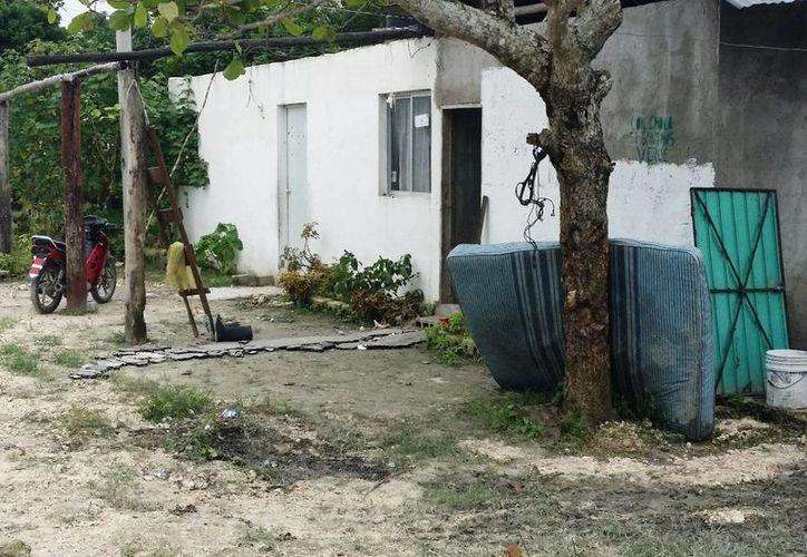 Los vecinos de las colonias Los Cedros, 10 de Septiembre, 16 de Septiembre y 20 de Noviembre, de la comunidad de Nicolás Bravo, fueron los más afectados por las pasadas lluvias del 2 de junio. (Edgardo Rodríguez/SIPSE)