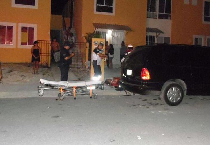 Bertha hirió con un machete a su pareja tras descubrir que éste abusaba de su hija, en Playa del Carmen. (Redacción/SIPSE)