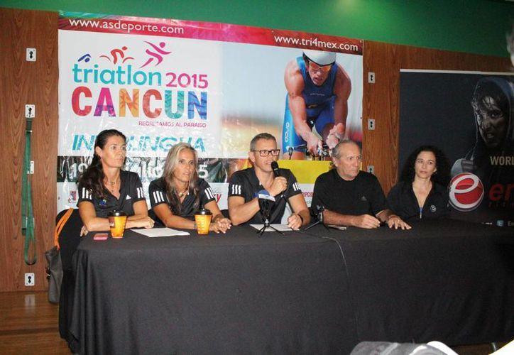 Los organizadores presentaron el evento durante una conferencia de prensa. (Ángel Mazariego/SIPSE)