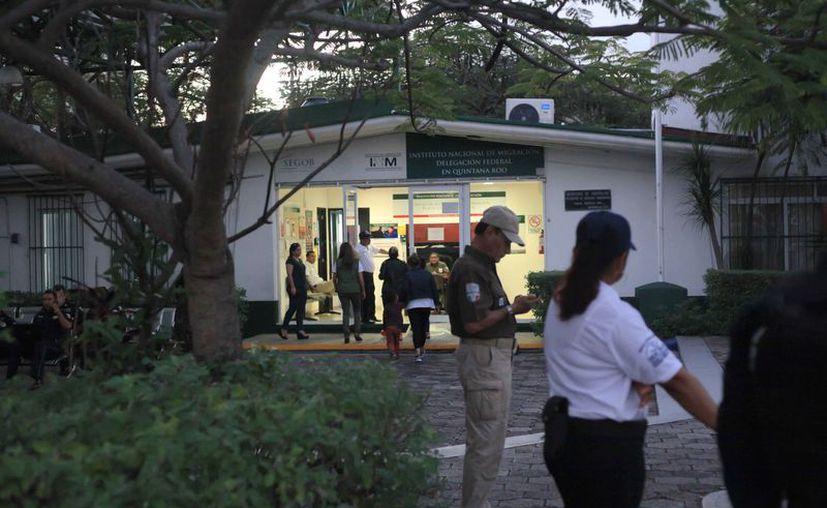 El INM dio su informe sobre la emisión de tarjetas de residencia temporal en el estado. (Octavio Martínez/SIPSE)