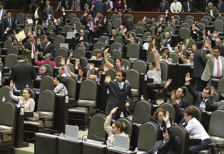 Sesión ordinaria en la Cámara de Diputados. (Notimex)