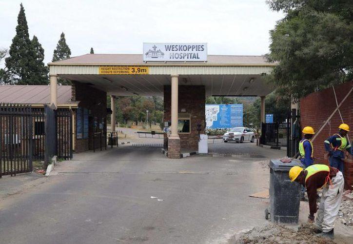Este es el Hospital de Weskoppies, en Pretoria, donde será evaluada la salud mental de Oscar Psitorius. (AP)