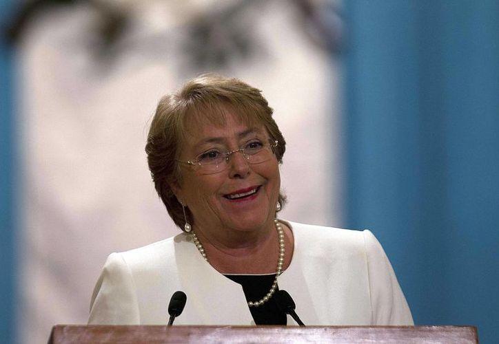 La presidenta Bachelet dijo que las medidas anticorrupción serán tramitadas de manera urgente. (EFE)