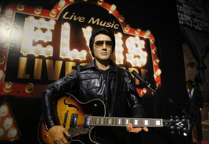 Elvis Presley es uno de los personajes que se pueden encontrar en el Museo de Cera de Cancún. (Redacción/SIPSE)