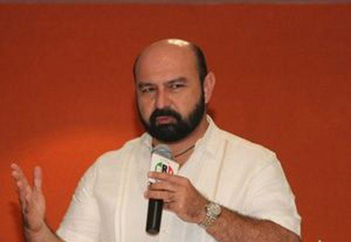 El diputado Luis Hevia Jiménez (PRI) formó parte de la votación unánime respecto a la creación de la Agencia Fiscal. (www.priyucatan.org.mx)