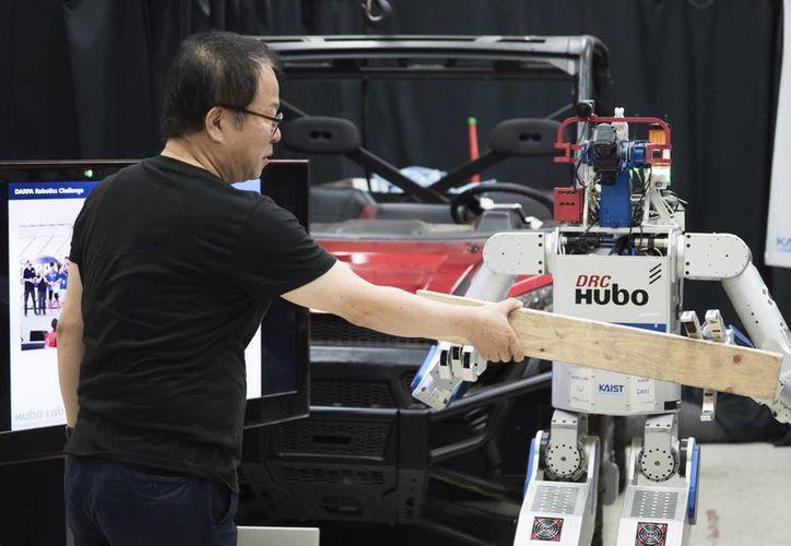 Hubo, un robot desarrollado por ingenieros coreanos, sería capaz de salvar vidas humanas en los próximos años. (EFE)