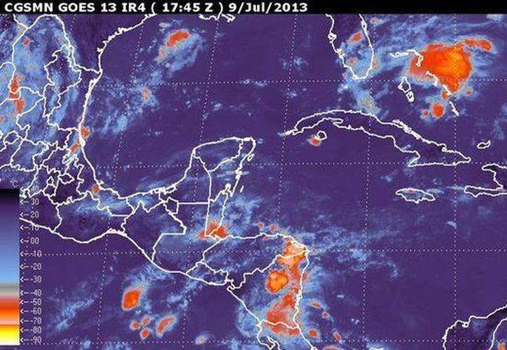 Autoridades locales afirmaron que Chantal es una tormenta grave. (Agencias)