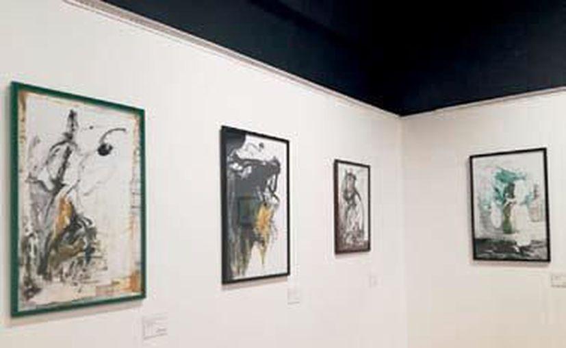 Dos exposiciones individuales y una colectiva, de artistas locales fueron inauguradas esta semana en La Casa de la Cultura. (Faride Cetina/SIPSE)