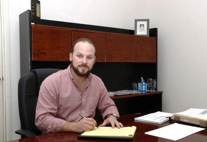 Agustín Menéndez Reyes, subsecretario de Trabajo de la Secretaría de Fomento Económico y Trabajo Estatal. (Novedades Yucatán)