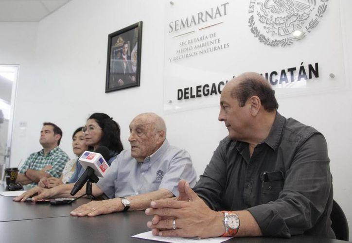 Investigadores y autoridades federales anunciaron un foro organizado por el Consejo Consultivo para el Desarrollo Sustentable (CCDS) Núcleo Yucatán de Semarnat. (Milenio Novedades)