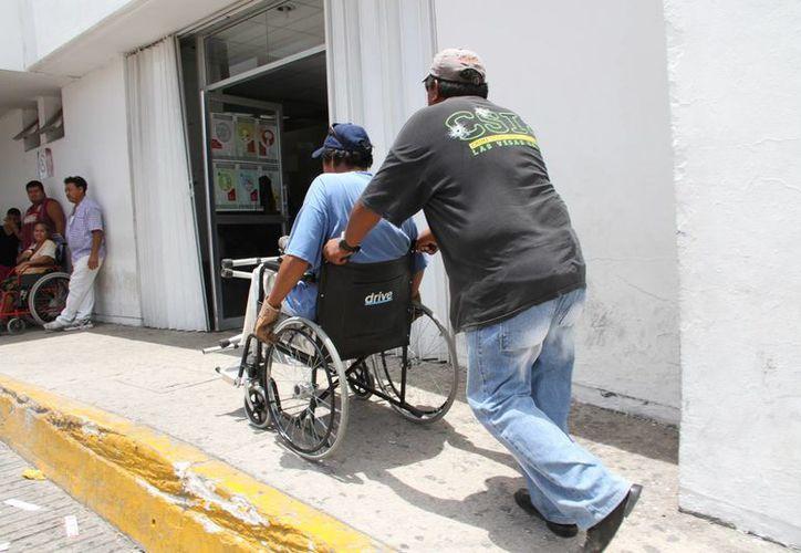El Comité Municipal gestionará lugares adaptados para personas con cualquier tipo de discapacidad. (Tomás Álvarez/SIPSE)