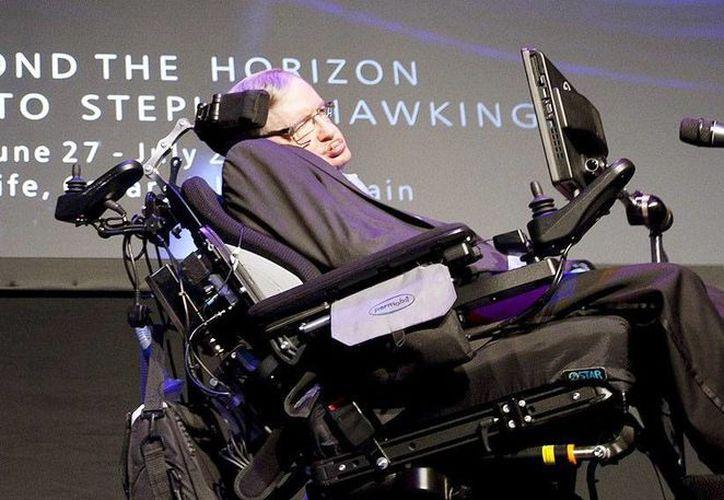 Imagen del científico británico Stephen Hawking durante su participación en el Vaticano sobre la expansión del Universo. (EFE)