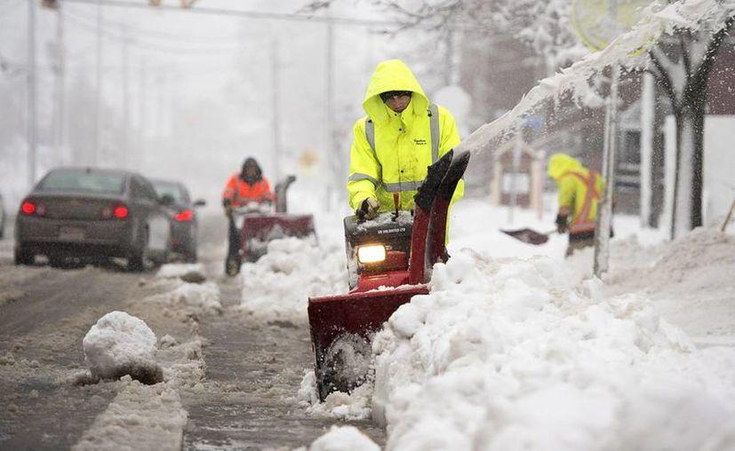 En Canadá se han registrado temperaturas cercanas a los menos seis grados en esta temporada preinvernal. (AP)