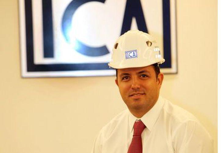 Alonso Quintana, director general de ICA, señaló que los trenes no podrían lanzarse como concesiones tradicionales, pues resultarían poco rentables para las empresas. (Reforma)