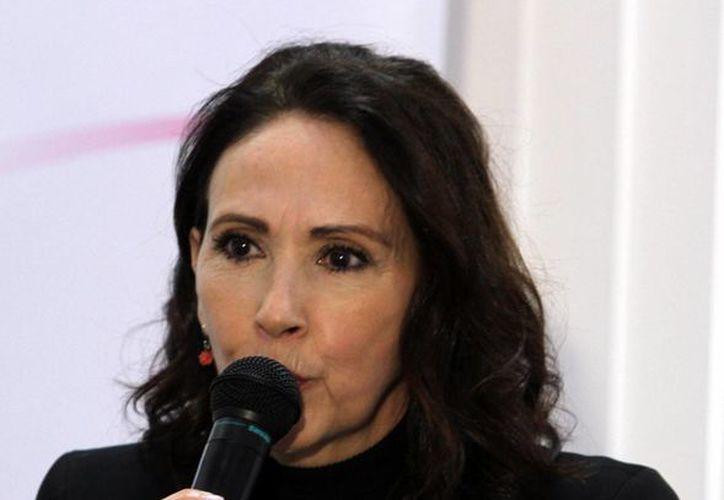 Blanca Guerra: el trabajo que estamos haciendo, ya por sí mismo me está ayudando a crecer. (Notimex/Foto de archivo)