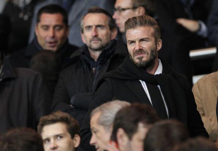 David Beckham parece tener viejas rencillas con Blatter. (Foto: AP)