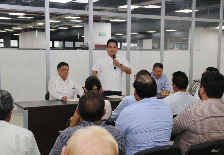 Presidió la reunión el consejero jurídico Carlos Pavón Flores. (Milenio Novedades)