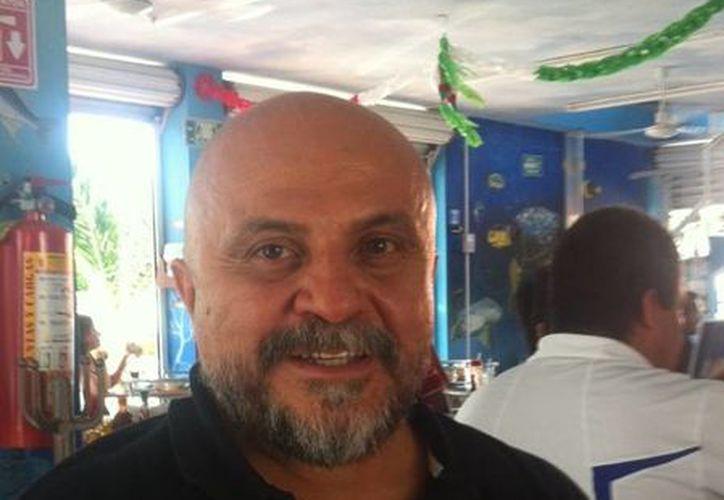 El presidente de la Asociación de Inversionistas de la Riviera Maya, Antonio Cervera León. (Loana Segovia/SIPSE)