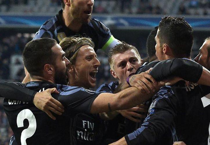 El Real Madrid venció a Bayern. (Foto: AFP)