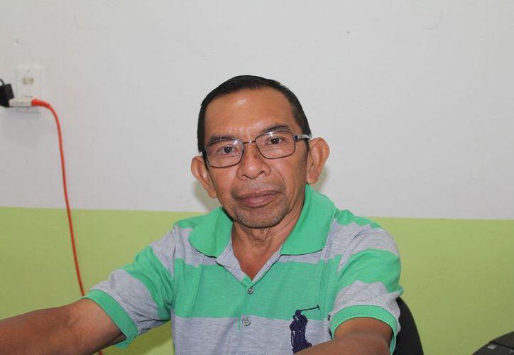 El representante ejidal dijo que apenas recibieron la notificación de parte de las autoridades del RAN. (Raúl Balam/SIPSE)