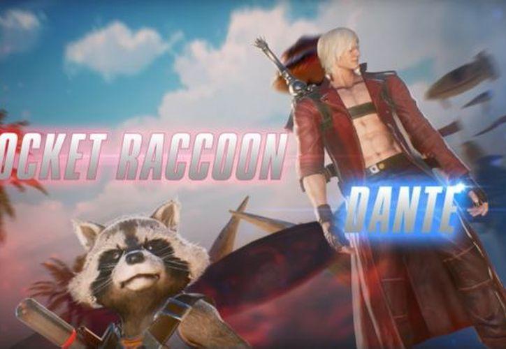Dos de los personajes revelados fueron Rocket Raccoon y Dante. (Foto: Captura de Pantalla/YouTube)