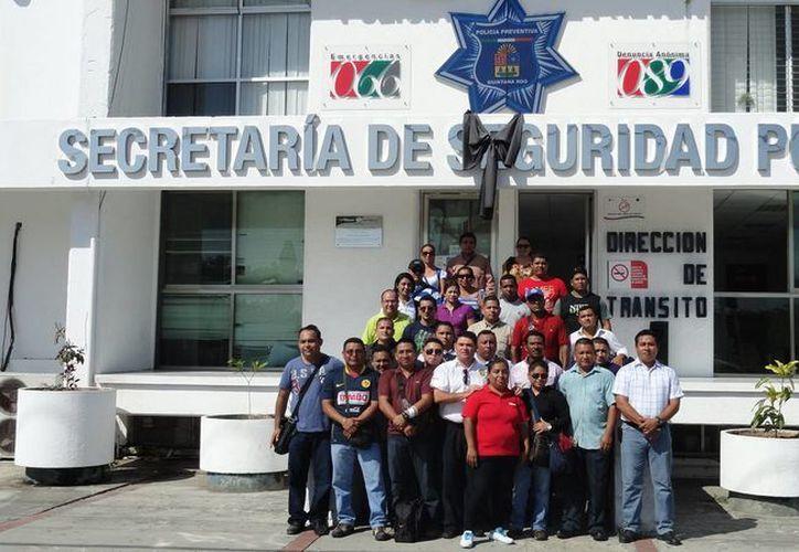 """Policías preventivos recibirán el curso """"Supervisión de Primera Línea"""", en la ciudad de Puebla. (Redacción/SIPSE)"""