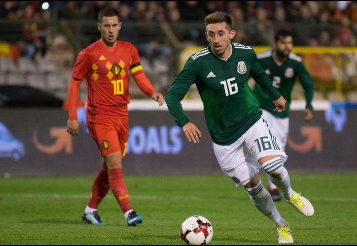 Herrera fue titular ayer en el partido amistoso que México sostuvo contra Bélgica. (Foto: Informador)