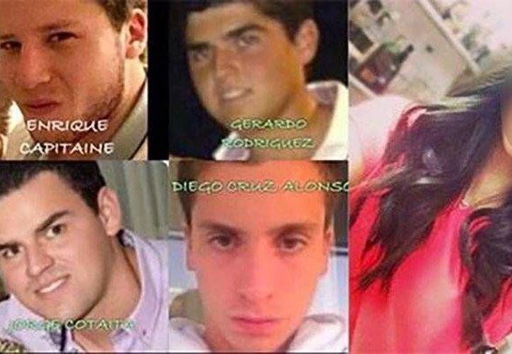 Los cuatro jóvenes confesaron en un video haber abusado de la menor y le ofrecieron disculpas.(regeneracion.mx)