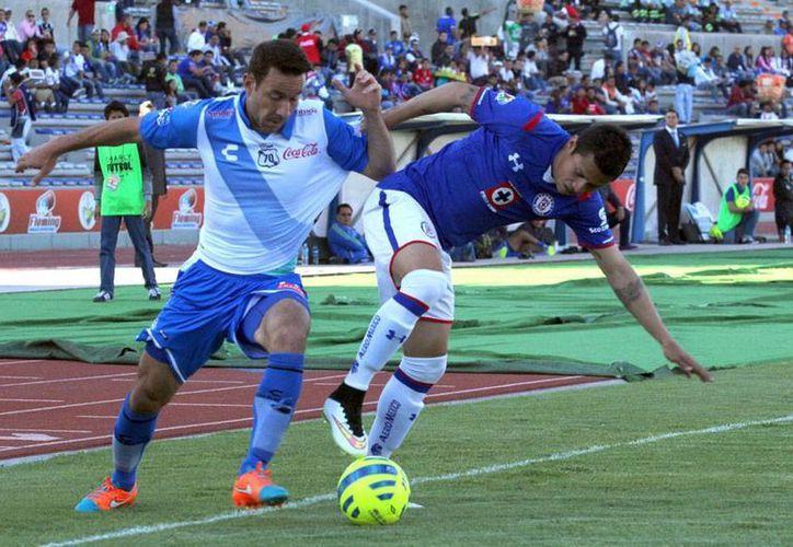 Puebla y Cruz Azul no se hicieron daño en el torneo Clausura 2015 de la Liga MX. (NTX)