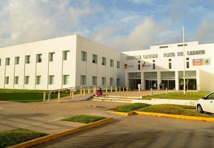 El Hospital General cumple tres años de brindar servicios médicos a los playenses y habitantes de municipios cercanos.  (Redacción/SIPSE)
