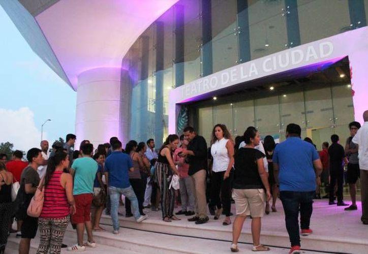 En el Teatro de la Ciudad se presentarán danzas y actuaciones operísticas de Italia. (Foto: Redacción/ SIPSE)