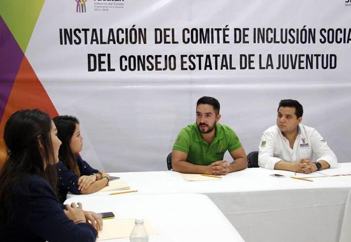 La Secretaría de la Juventud integró esta semana los cuatro comités del Consejo Estatal de la Juventud. (Foto cortesía)