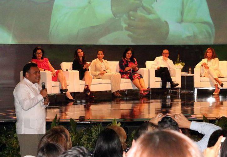 El gobernador Rolando Zapata presidirá este miércoles la Inauguración del primer Congreso Nacional de Avances en Alimentación y Biotecnología 2016. (José Acosta/Milenio Novedades)