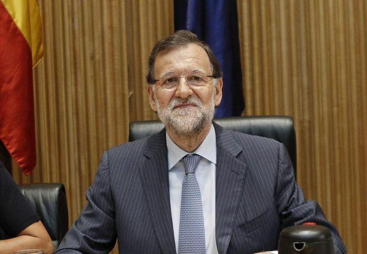 Mariano Rajoy acudió a Cataluña para un mitin del Partido Popular. No fue bien recibido por los habitantes de la localidad de Reus. (EFE/Archivo)